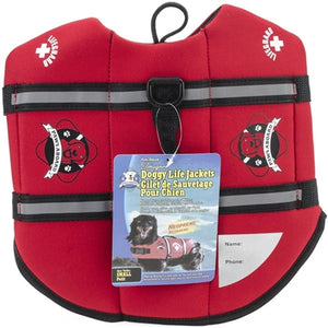 Paws Aboard Red Neoprene Pet Life Vest