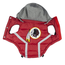 Load image into Gallery viewer, NFL PUFFER VEST -REDSKINS - doggyDAWGworld.com