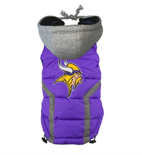 Load image into Gallery viewer, NFL PUFFER VEST -VIKINGS - doggyDAWGworld.com
