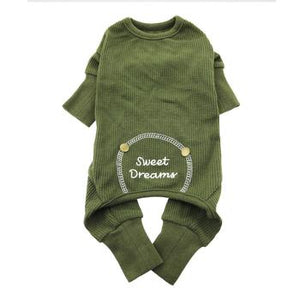 PAJAMAS (ARMY GREEN Thermal)