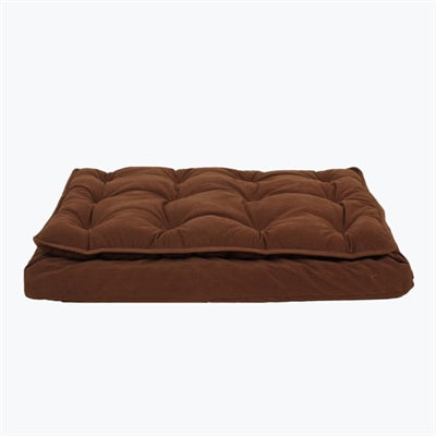 LUXURY PILLOW TOP MATTRESS BED (CHOCOLATE) - doggyDAWGworld.com