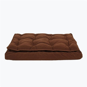 LUXURY PILLOW TOP MATTRESS BED (CHOCOLATE)