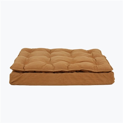 LUXURY PILLOW TOP MATTRESS BED (CARAMEL)