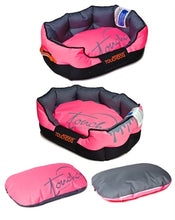 Load image into Gallery viewer, PINK TOUCHDOG PERFORMANCE BED - doggyDAWGworld.com