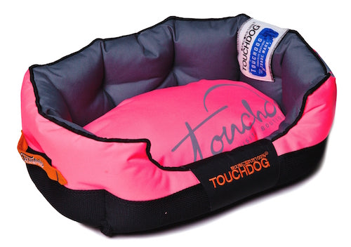PINK TOUCHDOG PERFORMANCE BED - doggyDAWGworld.com