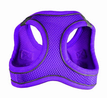 Load image into Gallery viewer, SPORTS MESH HARNESS VEST- Purple - doggyDAWGworld.com