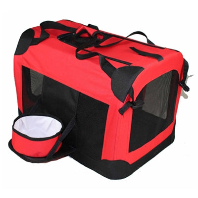 TRAVEL PET DOG CRATE