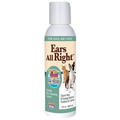 Ark Naturals EARS ALL RIGHT 4OZ - doggyDAWGworld.com