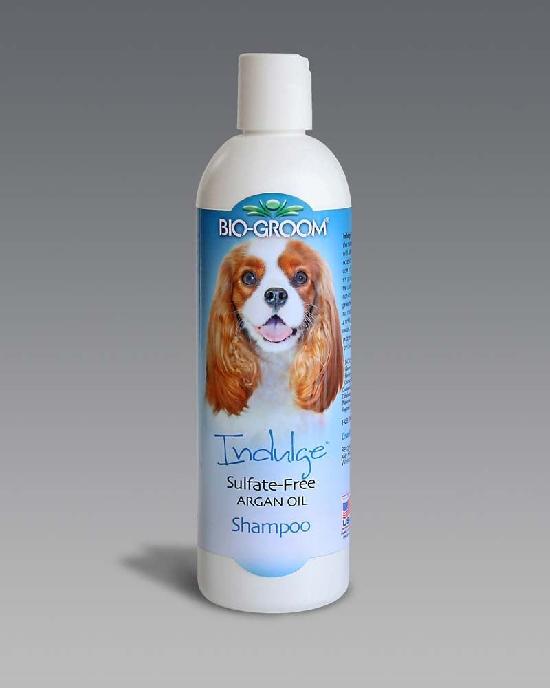 BIO-GROOM INDULGE SULFATE FREE ARGAN OIL SHAMPOO 12OZ.