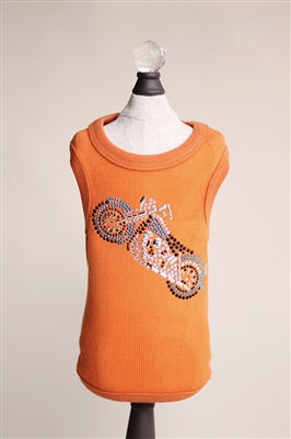 MOTORCYCLE TANK (ORANGE)