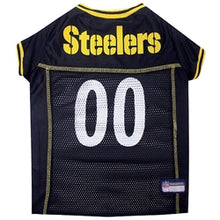 Load image into Gallery viewer, NFL PITTSBURGH STEELERS Dog Jerseys - doggyDAWGworld.com