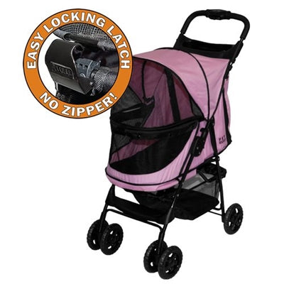 STROLLER HAPPY TRAIL.S    (PINK DIAMOND) - doggyDAWGworld.com