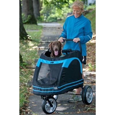 STROLLER ROADSTER (BLUE/BLACK) - doggyDAWGworld.com