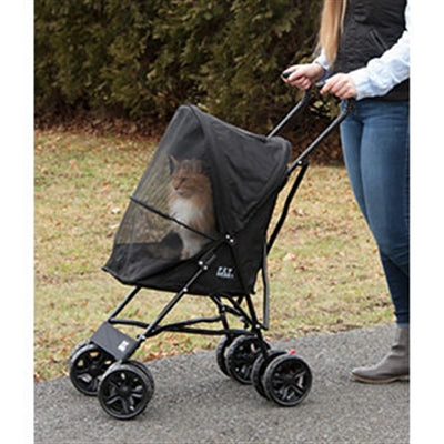 STROLLER  TRAVEL LIGHT (BLACK) - doggyDAWGworld.com