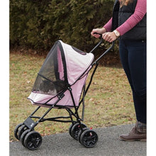 Load image into Gallery viewer, STROLLER  TRAVEL LIGHT (PINK) - doggyDAWGworld.com