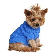 Load image into Gallery viewer, BLUE 100% COMBED COTTON SWEATER (XXS-3XL) - doggyDAWGworld.com