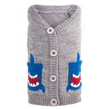 Load image into Gallery viewer, 'LIL' SHARK CARDIGAN (XXS-XXL) - doggyDAWGworld.com