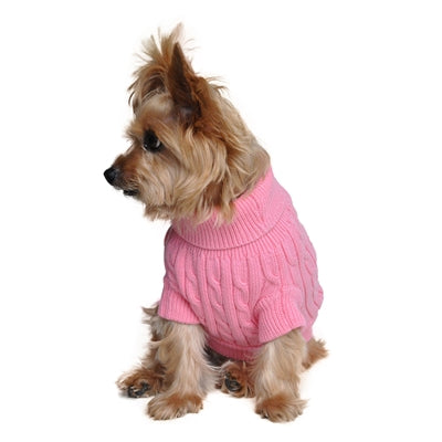 PINK 100% COMBED COTTON SWEATER  (XXS-3XL) - doggyDAWGworld.com