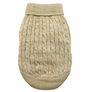 OATMEAL 100% COMBED COTTON SWEATER  (XXS-3XL)