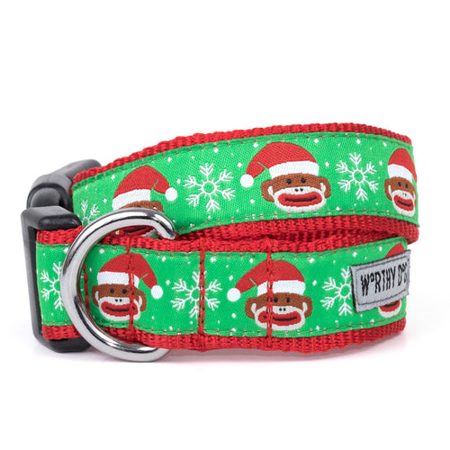 THE SANTA SOCK MONKEY COLLAR