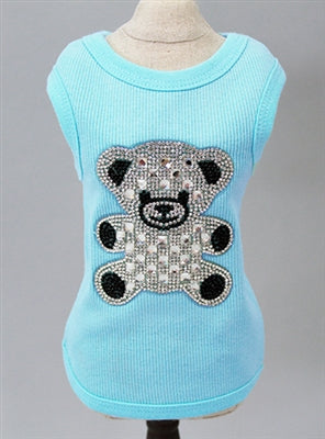 BEAR TEE (PINK) - doggyDAWGworld.com