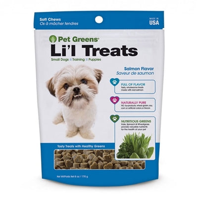 Bell Rock Growers Semi Moist Li'l Healthy Dog Treats 6oz (SALMON) - doggyDAWGworld.com