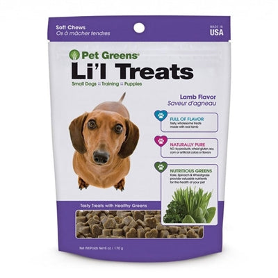 Bell Rock Growers Semi Moist Li'l Roasted Dog treats 6oz (LAMB) - doggyDAWGworld.com