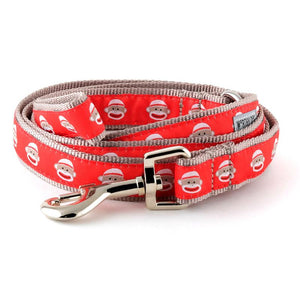 SOCK MONKEY LEAD -Red