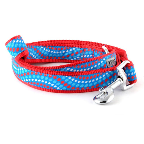 BLUE AND RED UNISEX DOG LEASH