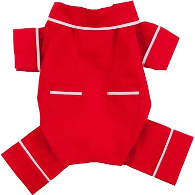 Red- POPLIN PAJAMAS - doggyDAWGworld.com