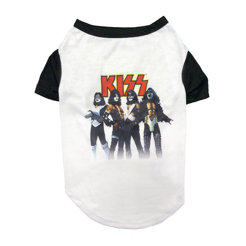 KISS LOVE GUN BASEBALL T-SHIRT