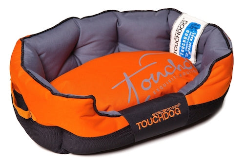 ORANGE TOUCHDOG PERFORMANCE BED - doggyDAWGworld.com