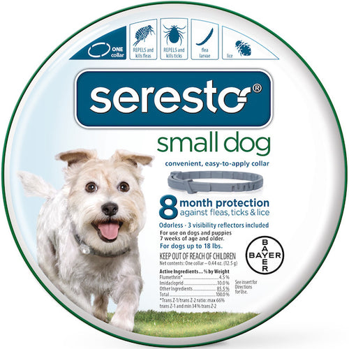 SERESTO Flea & Tick Collar (USA - EPA Registered Small or Large) - doggyDAWGworld.com