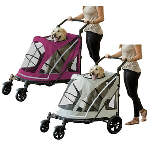 NO-ZIP Expedition Pet Stroller - doggyDAWGworld.com