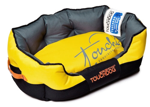 YELLOW TOUCHDOG PERFORMANCE BED - doggyDAWGworld.com