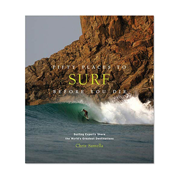 """FIFTY PLACES TO SURF BEFORE YOU DIE"" BOOK"