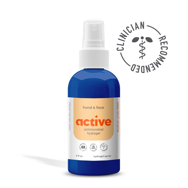 ACTIVE HAND & FACE ANTIMICROBIAL SPRAY