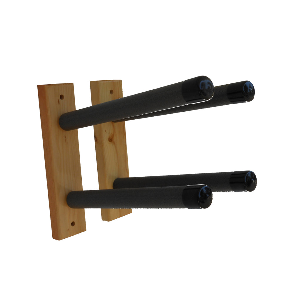BLOCK SURF WOOD WALL RACK