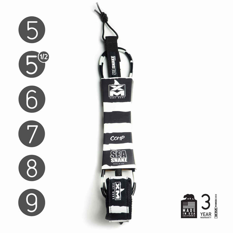 XM SURF LEASH - SEA SNAKE 6' - 10'