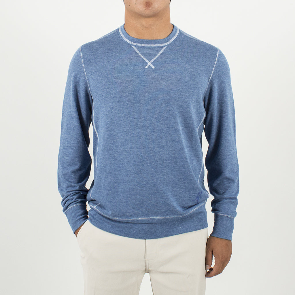 GROWLER L/S CREW LIGHTWEIGHT SEA SILK SWEATSHIRT