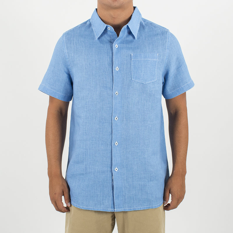 TOES ON THE NOSE HAMPTONS S/S LINEN SHIRT