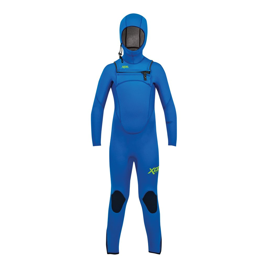 XCEL YOUTH COMP HOODED 4.5/3.5MM FULLSUIT