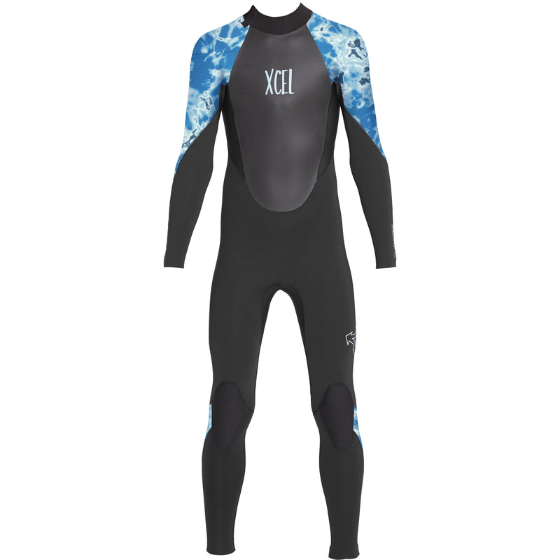 XCEL YOUTH AXIS BACK ZIP 3/2 FULLSUIT