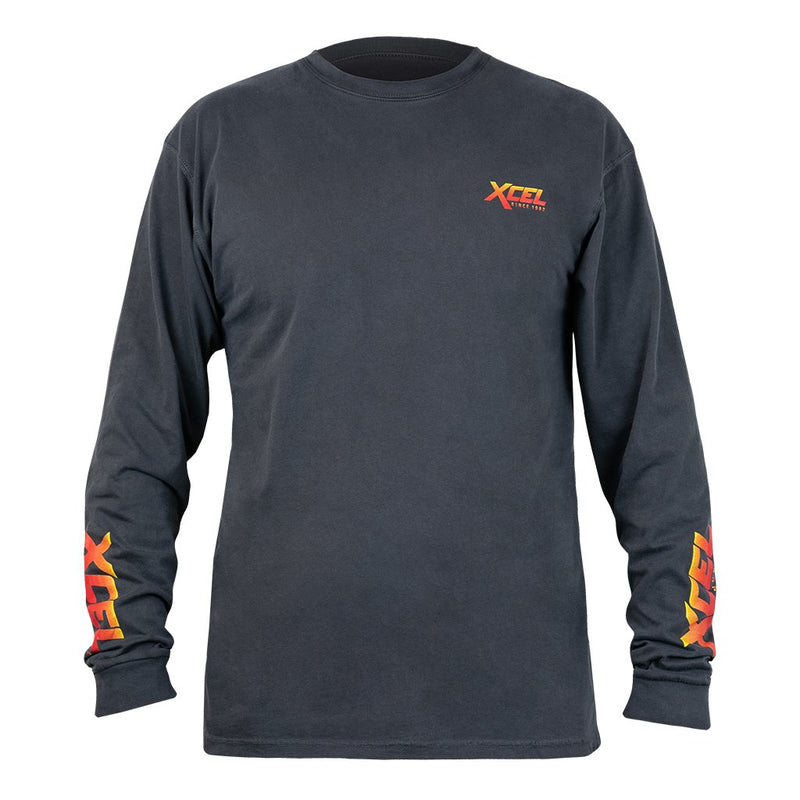 XCEL MEN'S RETRO L/S POCKET TEE