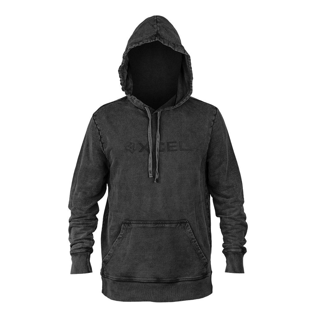 XCEL MEN'S HOODED PULLOVER FLEECE