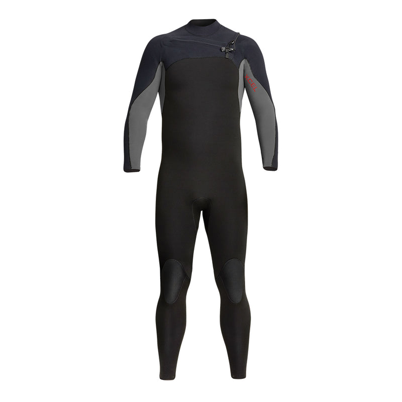XCEL WETSUITS MEN'S PHOENIX 4/3MM CHEST ZIP FULLSUIT FA20