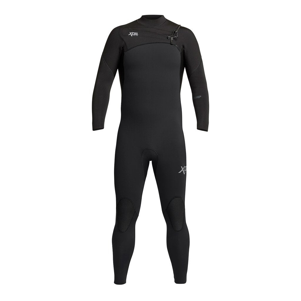 XCEL MENS COMP 4/3MM CHEST ZIP FULLSUIT FA20