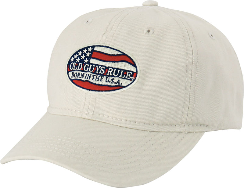 OLD GUYS RULE BORN IN USA HAT