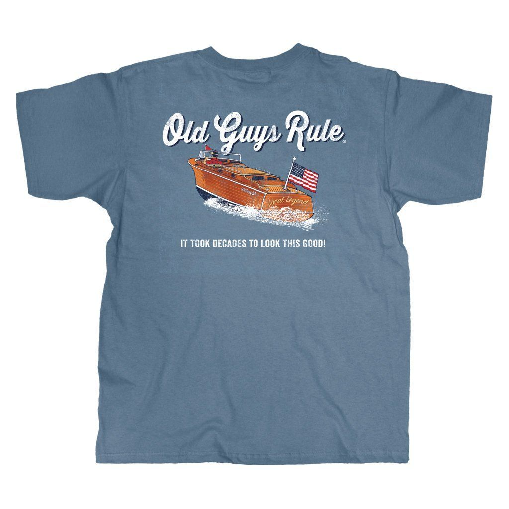 OLD GUYS RULE - CHRIS CRAFT T-SHIRT