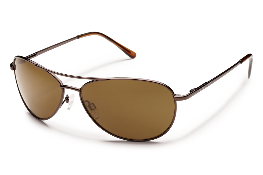 BURNISHED BROWN/POLARIZED BROWN
